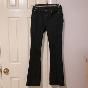 Calvin Klein black bootcut jeans